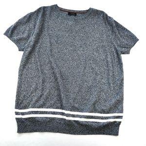 ZARA Shorts sleeve Sweatshirt L